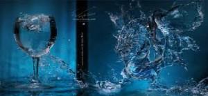 вспышка от воды