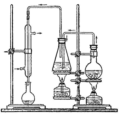 Прибор для отгона диметиланилина