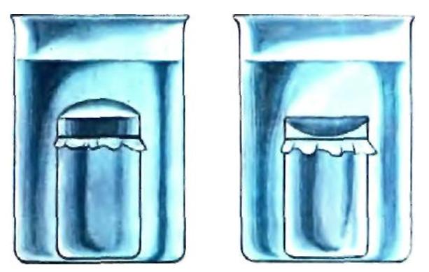 Диффузия молекул воды
