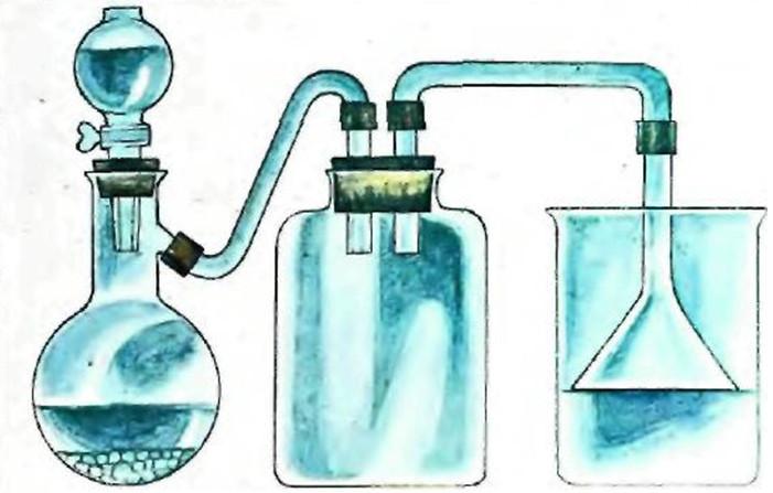Получение кристаллов хлорида натрия