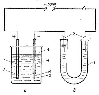 Схема включения электрического выпрямителя в электрическую цепь