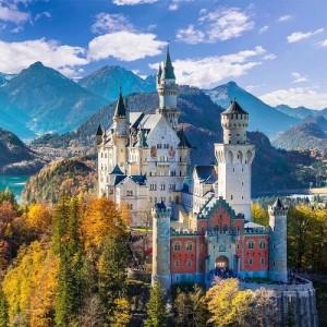 Замок из сказки Neuschwanstein Castle